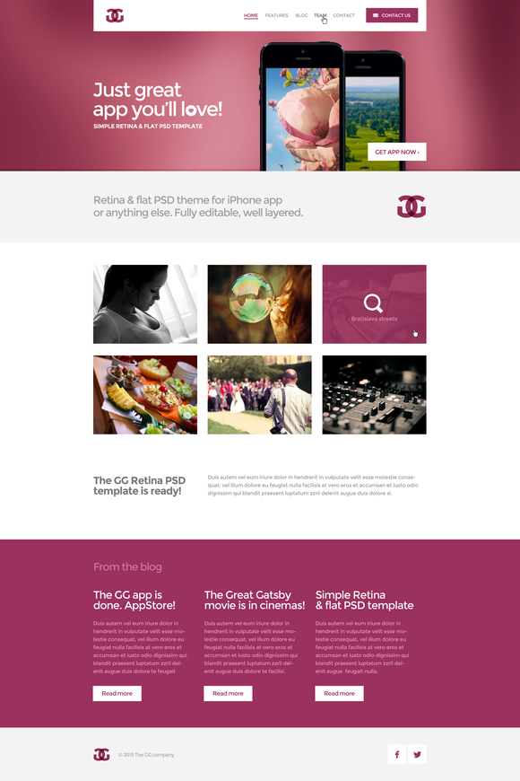 3in1 The GG Retina Template