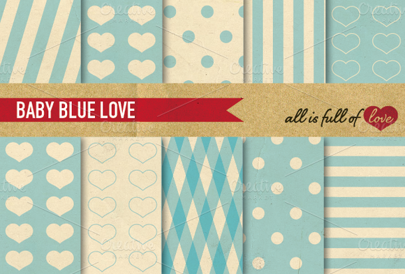 Printable Patterns Digi Paper Pack