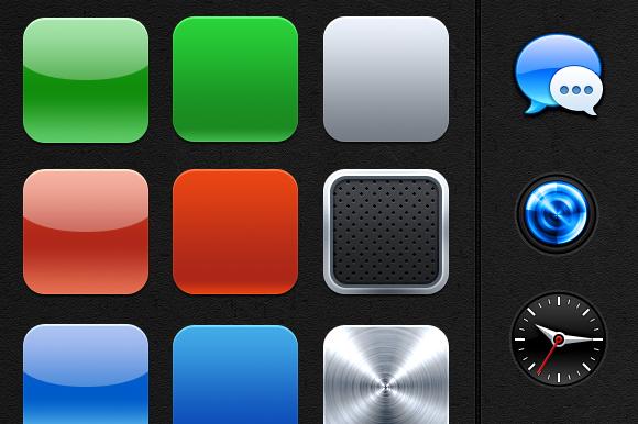 IOS App Icon Bases Extra S