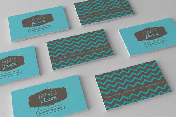Creative Clean Bizz Card