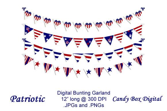 Patriotic Digital Bunting