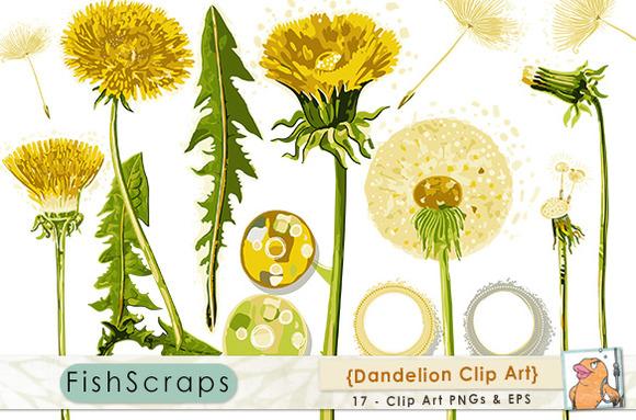 Dandelion ClipArt Flower Clip Art