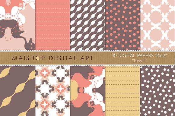 Digital Papers-Kiss II