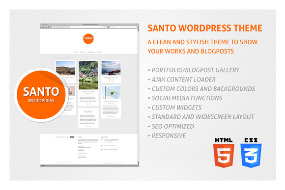 Santo WordPress Theme