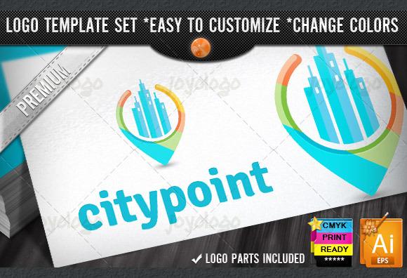 3D Locator Discover City Guide Logo