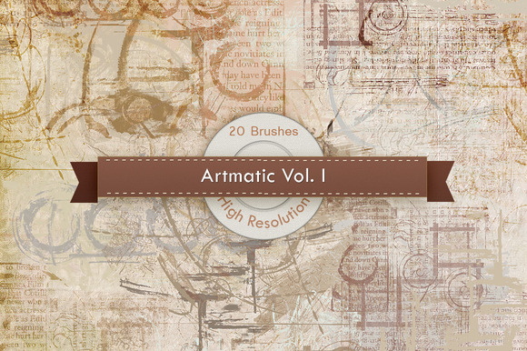 Artmatic Vol 01 Photoshop Brushes