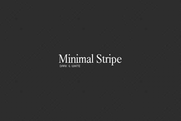 Minimal Stripe Dark White