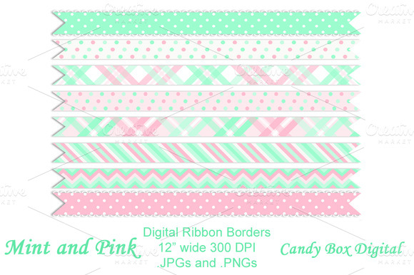 mint and pink wallpaper - photo #41