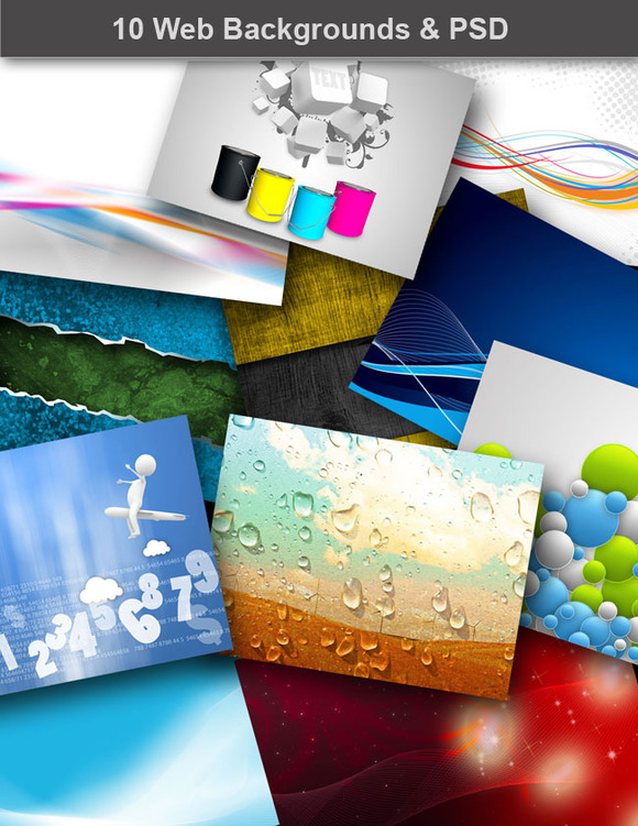 10 Web Backgrounds