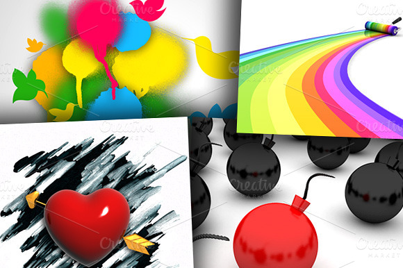 100 Royalty Free Backgrounds