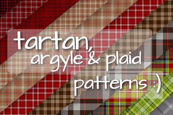 100 Tartan Argyle Plaid Patterns
