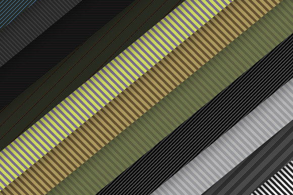 50 Stripes Patterns For Photoshop