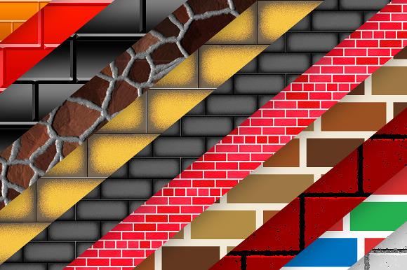 40 Brick Wall Patterns