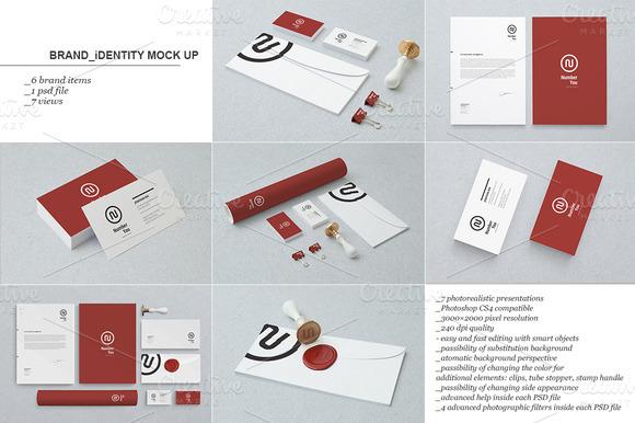 Branding Identity Mock-up 2