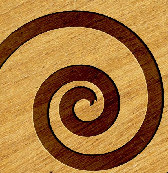 Logo Mock-ups Wood Style