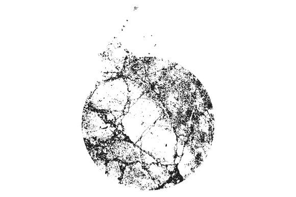 Circular Halftone Texture Vector