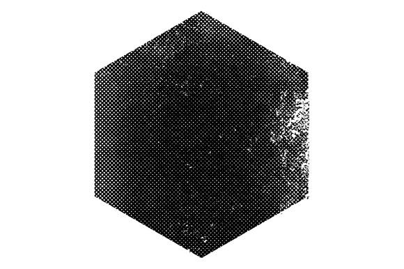 Textured Halftone Symbol Vector