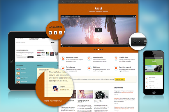 Asobi WordPress Theme