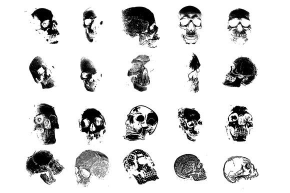Skulls Vector Pack #1