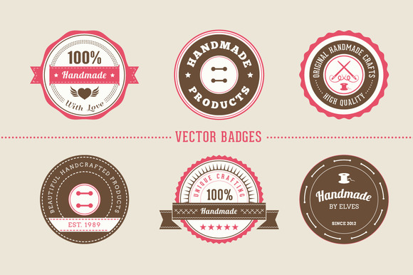 Badges For Handmade Products