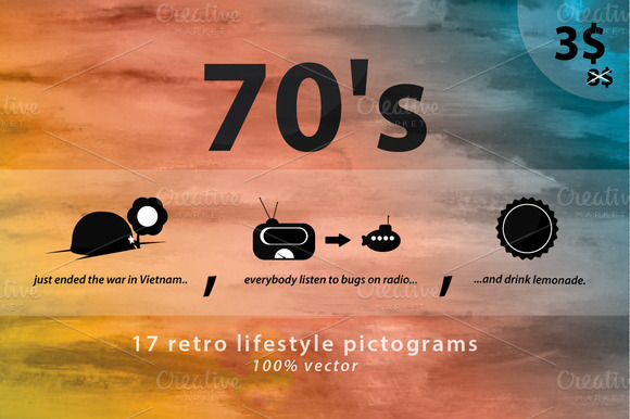 17 Retro Lifestyle Icons