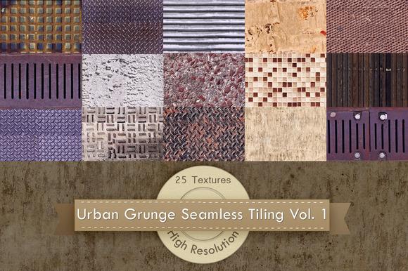 Urban Grunge Tiling Textures