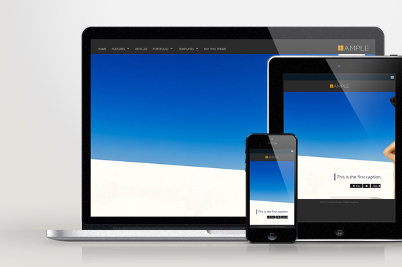 WP Ample Responsive WordPress Theme