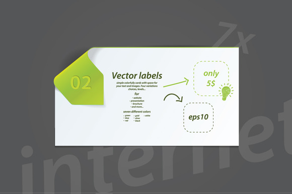 Colorfully Vector Cards