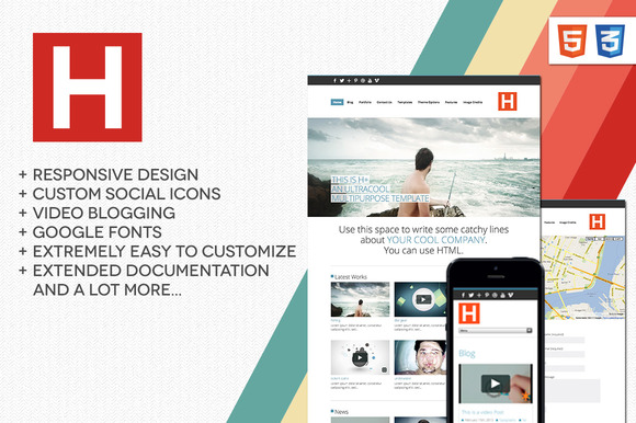 HPlus Multipurpose WP Theme