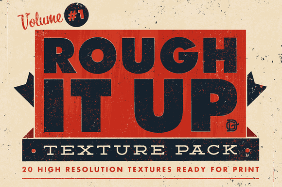 Rough It Up Texture Pack Vol #1
