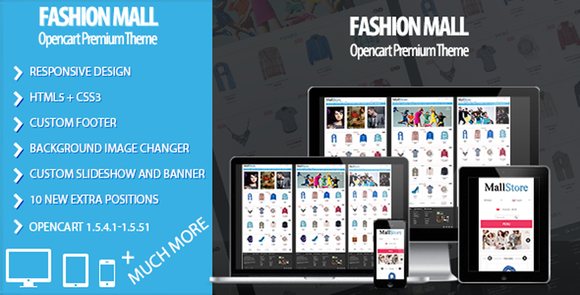 Fashion Mall Responsive