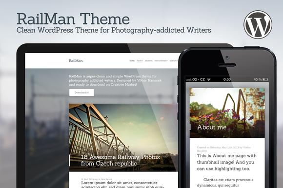 RailMan WordPress Theme