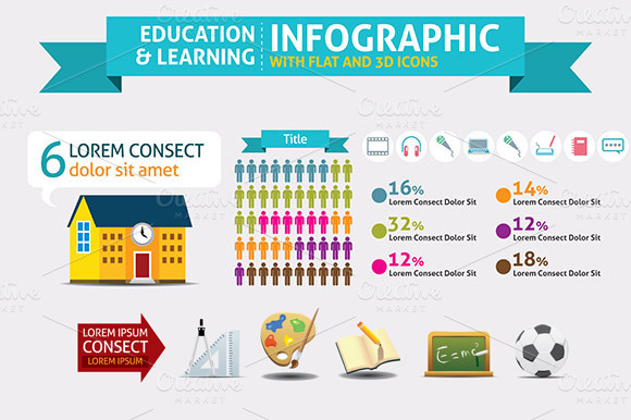 Education Learning Infographic