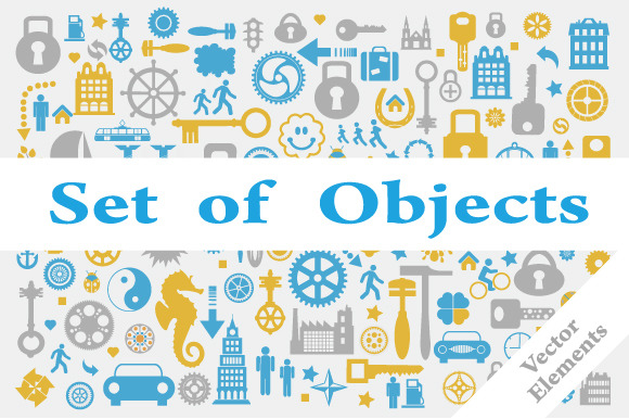Set Of Vector Objects