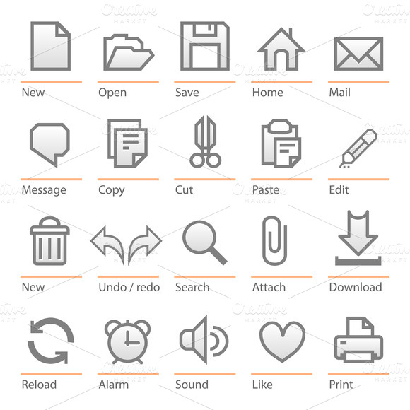 Software Icon Set