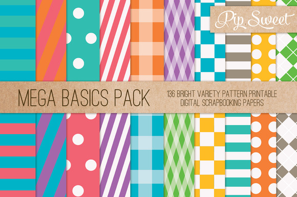 Mega Pack 136 Patterns