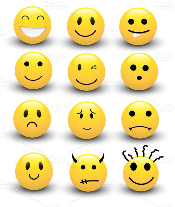 Smileys Vectors Set