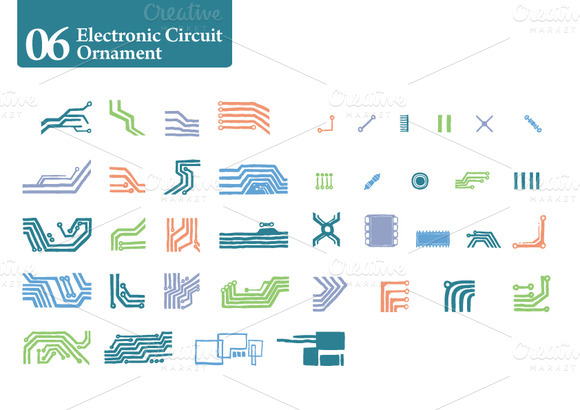 Electronic Circuit Ornament