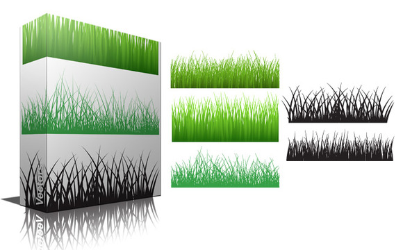Grassline Vector Brushes