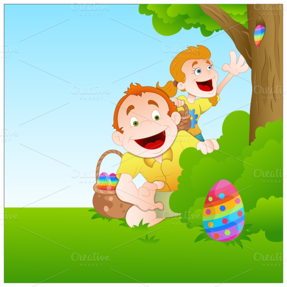 4 Easter Vectors