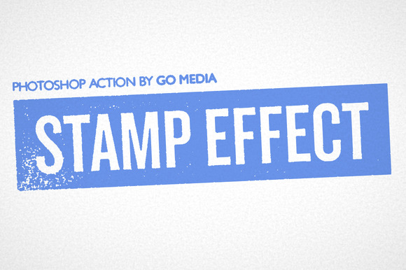 Vintage Stamp Photoshop Action