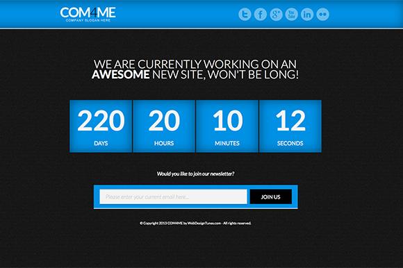 COM4ME HTML5 Responsive Template