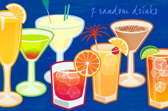 7 Random Drinks