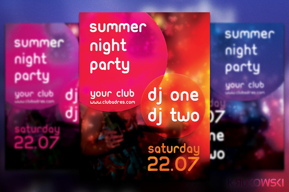 Simple Party Flyer Poster