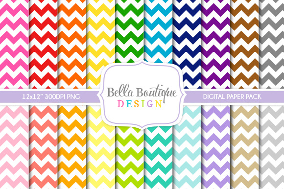 Seamless Thick Chevron Patterns