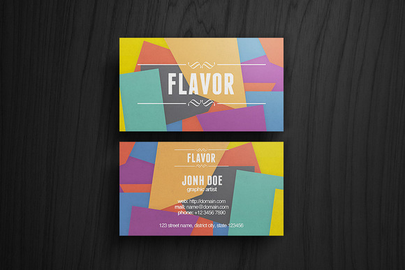 Flavor Business Card