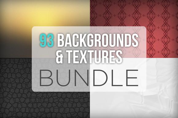 93 Backgrounds Textures Bundle