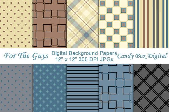 Masculine Digital Background Papers