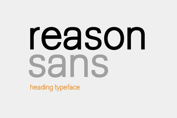 Reason Sans