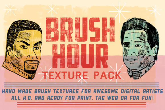BRUSH HOUR Texture Pack
